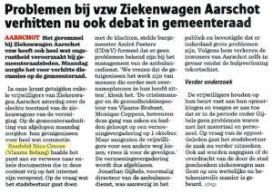 2014-09-24-Nieuwsblad-Problemen-bij-VZW-Ziekenwagen-Aarschot